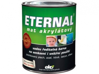 Eternal mat 0,7l tm. šedý 04