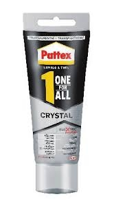 Lepidlo Pattex One For All Crystal transparentní 90 g